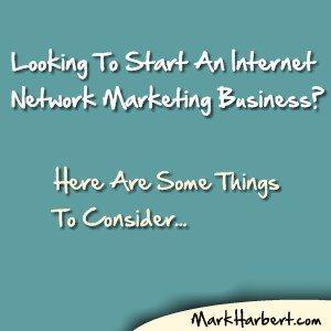 internet network marketing business
