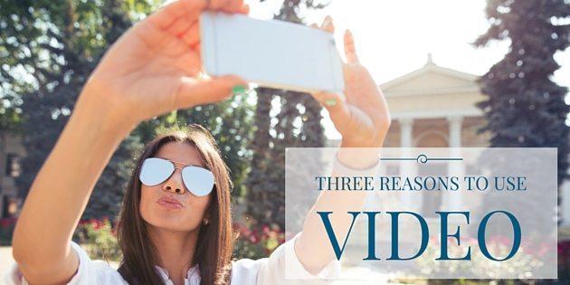 THREE REASONS TO USE