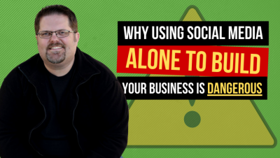 Email Marketing and Why Using Social Media Alone Is Very Dangerous For Your Business