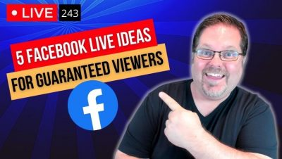 Facebook live ideas